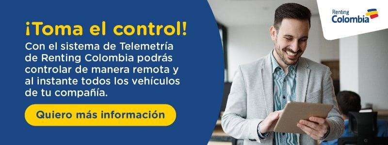 Renting Colombia - Telemetría-quiero-saber-mas