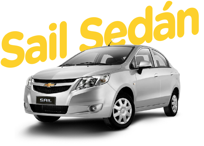 Renting Colombia Chevrolet Sail Sedán