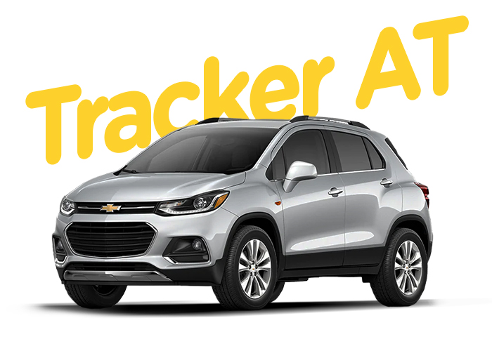 Renting Colombia Chevrolet Tracker AT