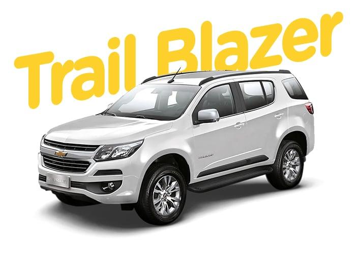 Renting Colombia Chevrolet TrailBlazer