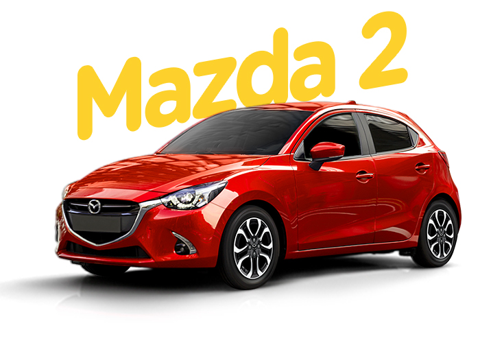 Renting Colombia Mazda 2