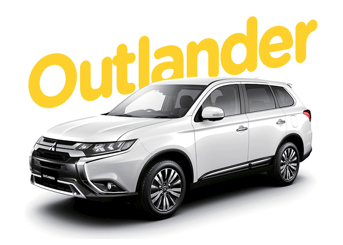 Renting Colombia Mitsubishi Outlander