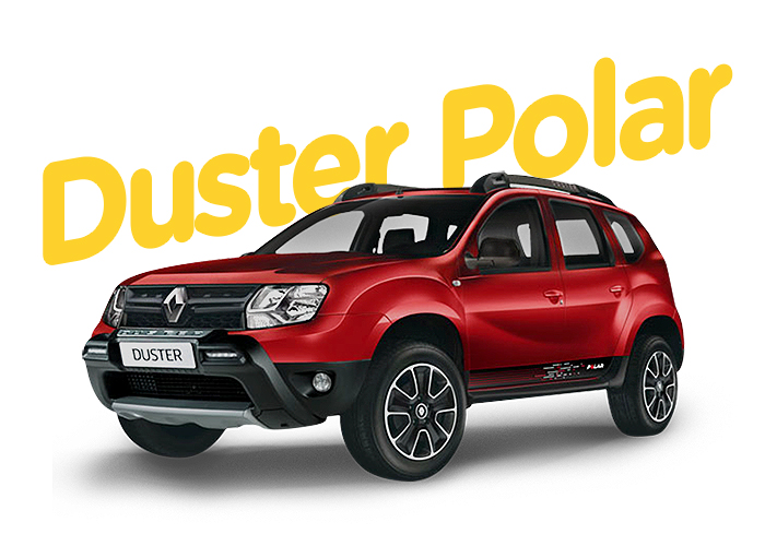 Renting Colombia Renault Duster Polar