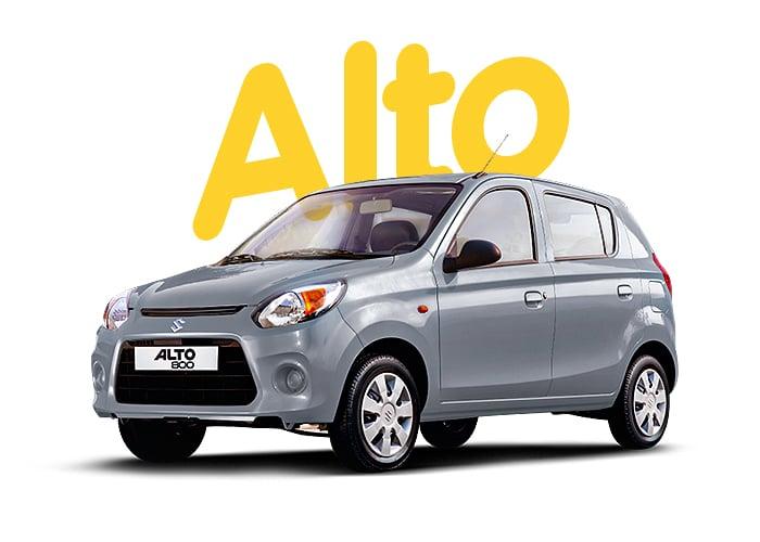 Renting Colombia Suzuki Alto