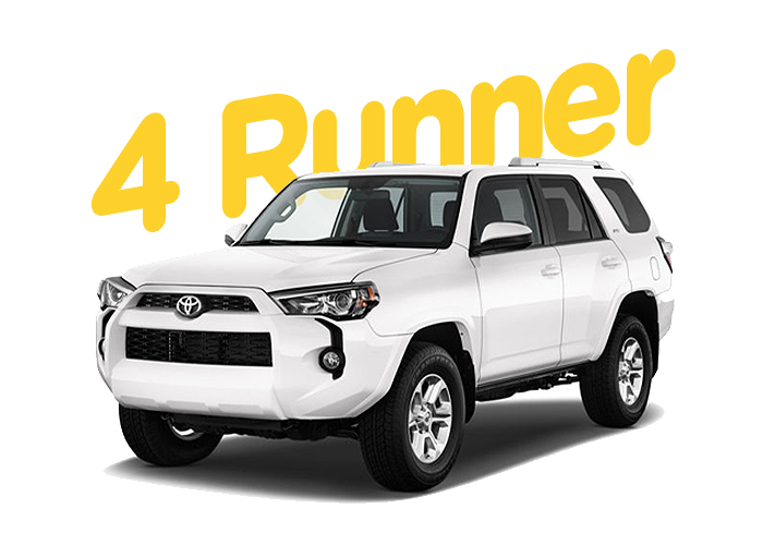 Renting Colombia Toyota 4 Runner