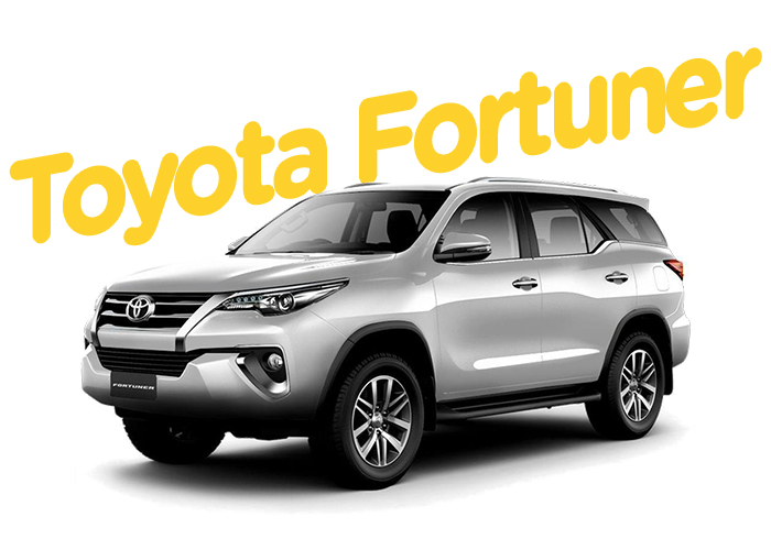 Renitng Colombia Toyota Fortuner