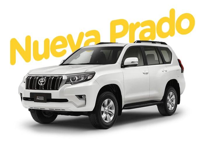 Renting Colombia Toyota Nueva Prado