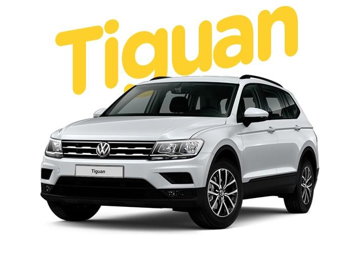 Renting Colombia Volkswagen Tiguan