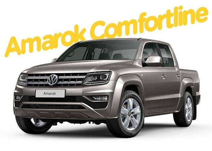 Renting Colombia Volkswagen Amarok