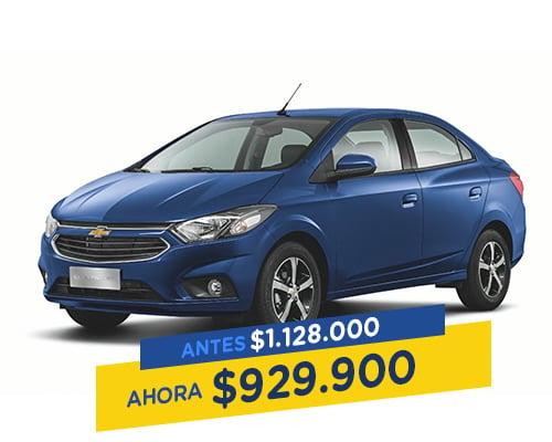 Renting Colombia onix sedan