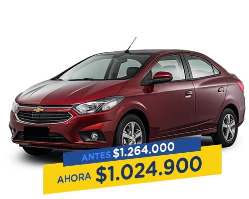 Renting Colombia chevrolet onix sedan