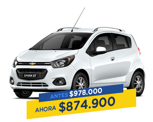 Renting Colombia chevrolet spark