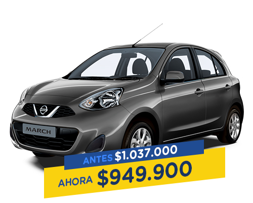 Renting Colombia nissan march