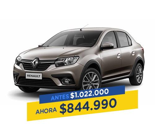 renting colombia Renault logan life