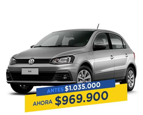Renting colombia Volkswagen Gol