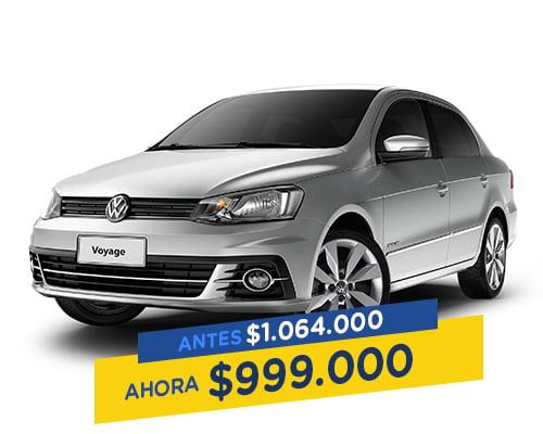 Renting Colombia Volkswagen Voyage