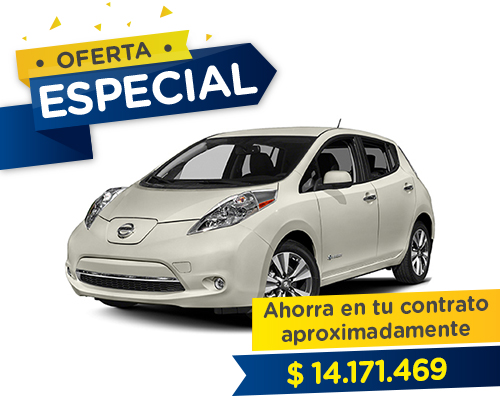 Renting Colombia nissan leaf