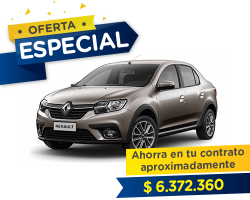 Renting Colombia Renault Life
