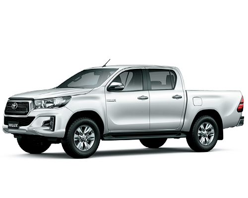 renting colombia toyota hilux