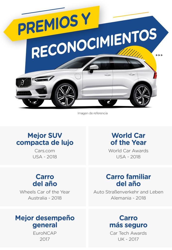 Si buscas camioneta Volvo debes conocer la premiada XC60
