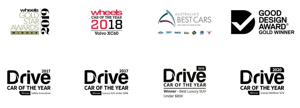XC60, la SUV más premiada del mundo