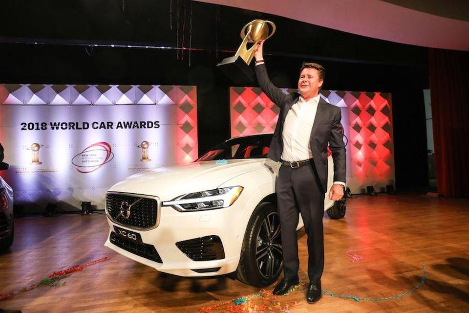 Volvo XC60 SUV award